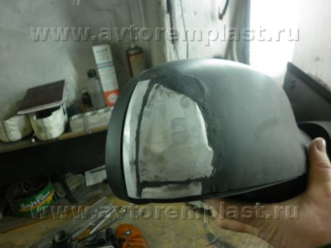 Зеркало бокового вида ремонт своими руками