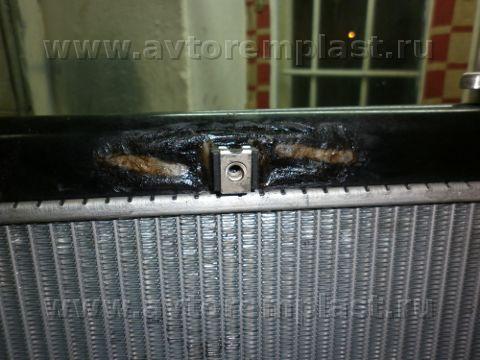 Ремонт пластикового радиатора автомобиля своими руками