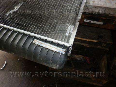 Ремонт пластиковой части радиатора своими руками