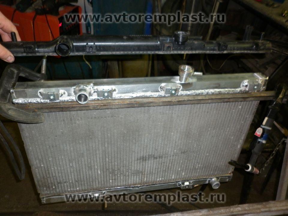 Ремонт радиаторов Тойота (Toyota), ремонт бачков, горловин, сердцевин радиаторов охлаждения Тойота