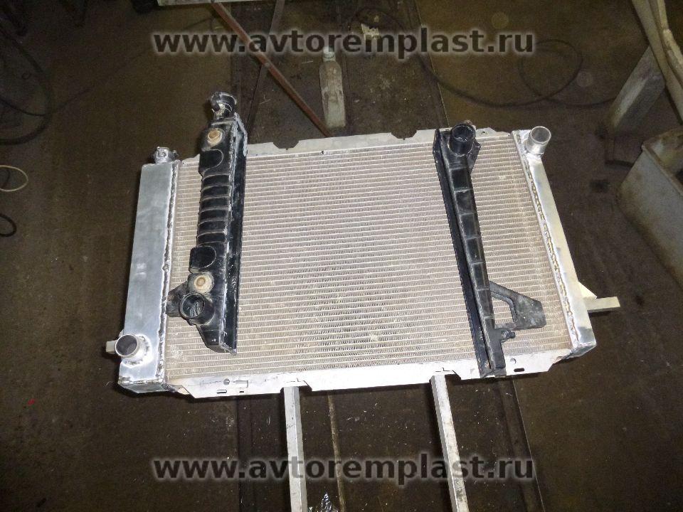 Как сделать бачок радиатора